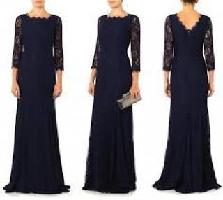DVF Zarita Lace Gown
