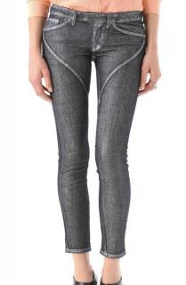 Camilla and Marc Silver Wild Wolf Skinny Jeans