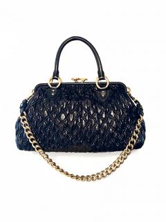 Marc Jacobs Quilted Stam bag in Black leather