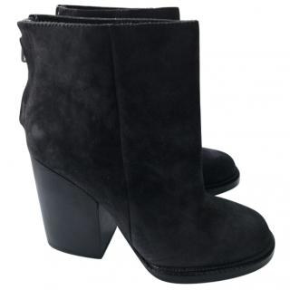 Ash Heeled Ankle Boots
