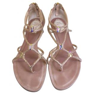 Rene Caovilla flat gladiator sandals