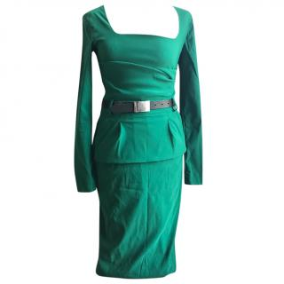 Preen by Thornton Bregazzi Green Dress