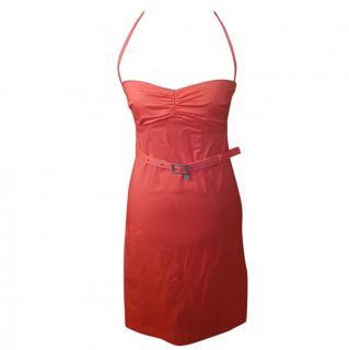 Patrizia Pepe Coral Bodycon Dress