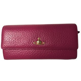 Vivienne Westwood Pink Leather Wallet