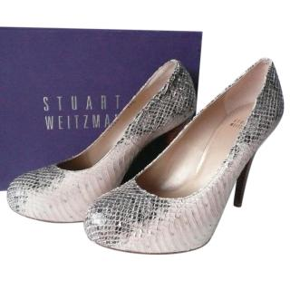 Stuart Weitzman Whips Leather Heels