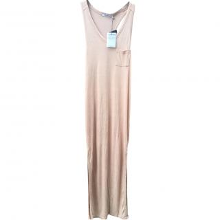 T by Alexander Wang Taupe vest dress