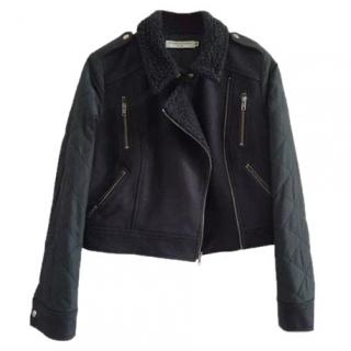 Opening Ceremony Motorbike wool coat