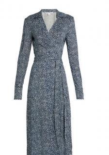Diane Von Furstenberg Cybil Wrap Dress