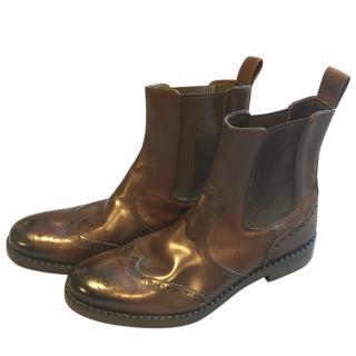 Jimmy Choo Linton Vintage Calf Boots