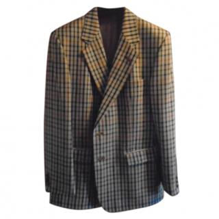Daks Men's Check Jacket
