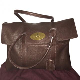 Mulberry Chocolate Brown Bayswater