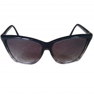 YSL Black Framed Sunglasses