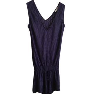 Heidi Klein Navy Playsuit