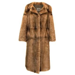 E. Eurich Brown Mink Coat