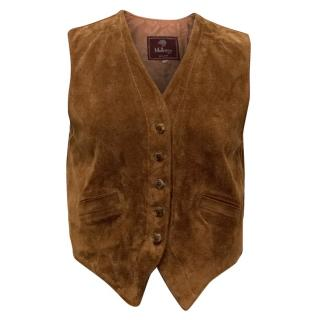Mulberry Tan Suede Waist Coat
