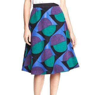 Marc Jacob leather and suede skirt