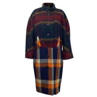 Vivienne Westwood Tarten Hand Woven Coat