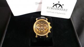 Hindenberg skeleton watch