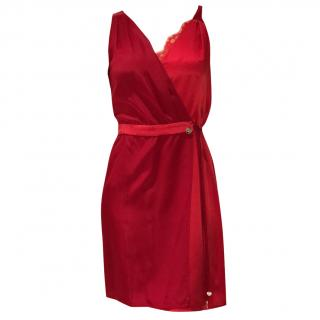 Luijo Red Silk dress