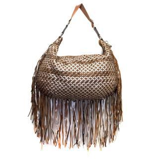 Marc Jacobs Tote Brown Tassels Bag