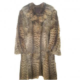 PELZHAUS AUGZBURG KARLSTR 5  Lynx Fur Coat