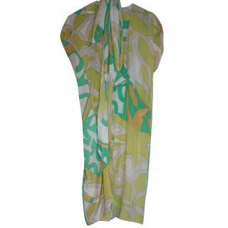 Pucci Silk Printed Dress