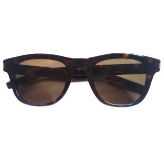 Saint Laurent Brown Sunglasses