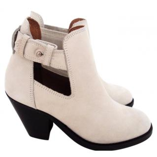Bimba & Lola Light Grey Ankle Boots