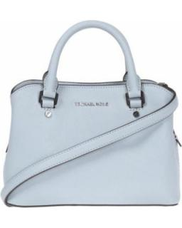 Michael Kors Savannah bag dusty blue