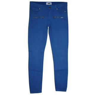 Paige LA cobalt blue jeans It 40