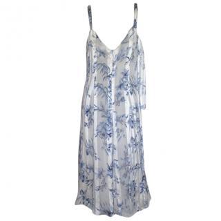 Les Copains silk floral dress