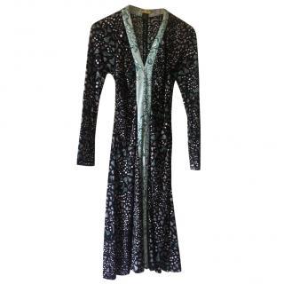 Issa long sleeved silk dress