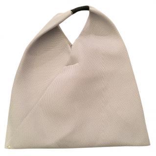 MM6 Grey Fabric Bag