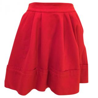 Marc by Marc Jacobs red skater skirt