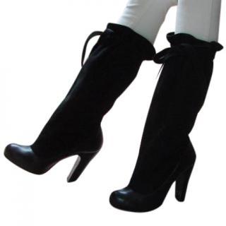 Marc Jacobs Black Suede Boots