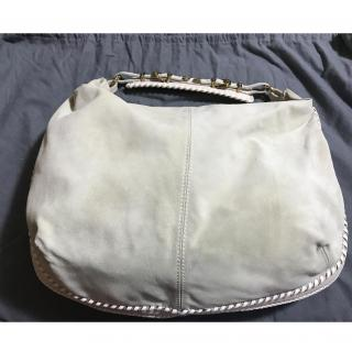 Alexander McQueen Cream Suede Bag