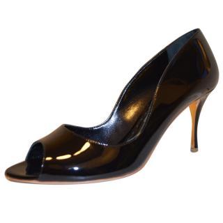 Rupert Sanderson Black Patent Leather shoes/pumps