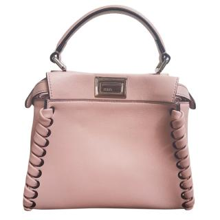 Fendi Pink Mini Peekaboo Handbag