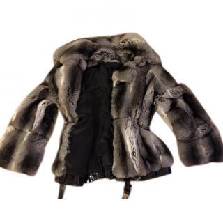 Esseffe Collezione Chinchilla Fur Coat