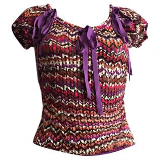 MISSONI kisses WOLFORD Gorgeous top size S