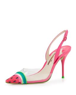 Sophia Webster Watermelon Heels