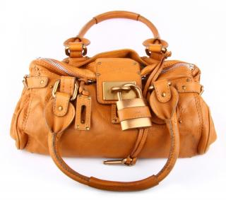 Chloe Paddington Bag in Tan