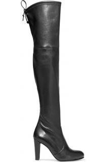 Stuart Weitzman Highland Leather Boots size 5