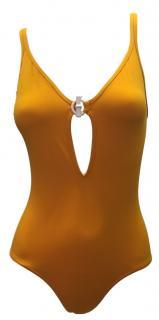 Hermes Yellow Swim Suit