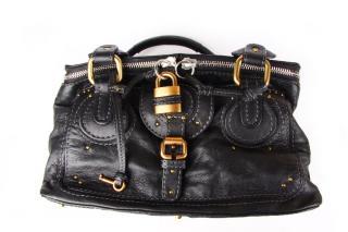 Chloe Black Paddington Vanity Bag