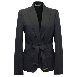 Gucci Black Fitted Blazer
