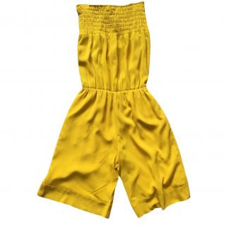 Red Valentino Yellow Jumpsuit M