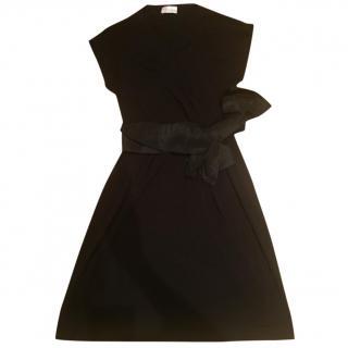 Red Valentino Black Bow Dress