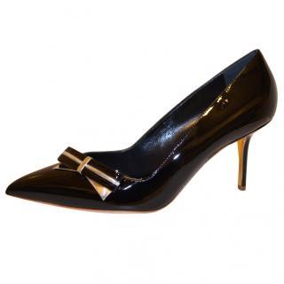 Rupert Sanderson Black leather pumps