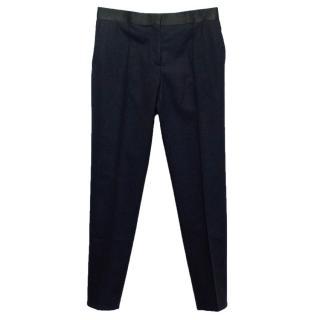 Celine Navy Blue Trousers